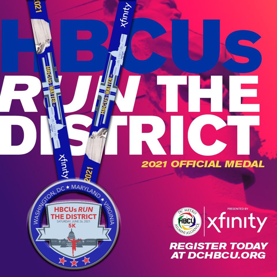 HBCUs Run The District_2021 Official Medal